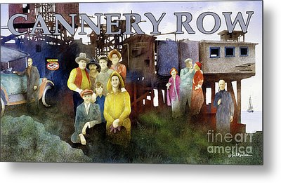 Cannery Row Metal Print by Will Bullas