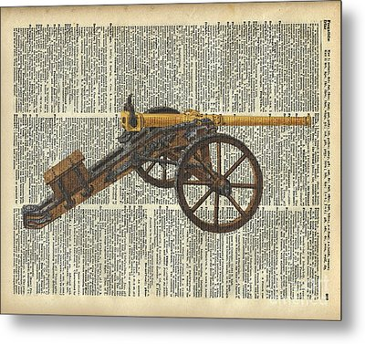 Cannon Metal Print by Jacob Kuch