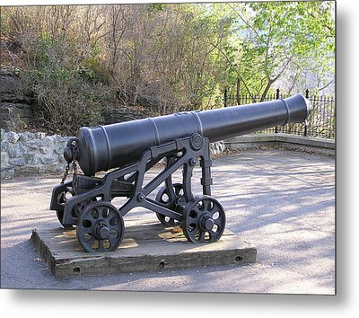Cannon Metal Print by Richard Mitchell
