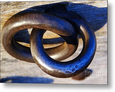 Cannon Rings Metal Print