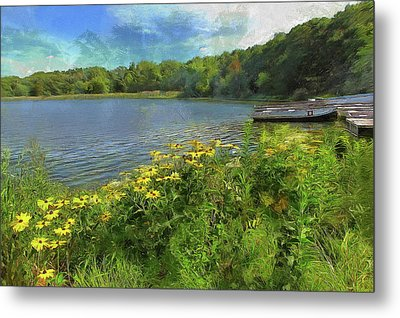 Canoe Number 9 Metal Print
