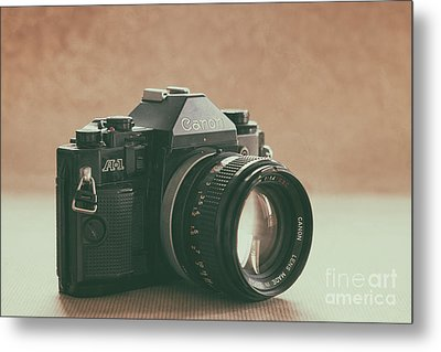 Metal Print featuring the photograph Canon A1 by Ana V Ramirez