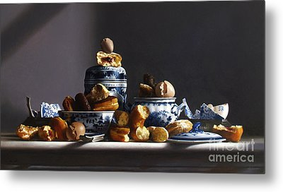 Canton With Donuts Metal Print