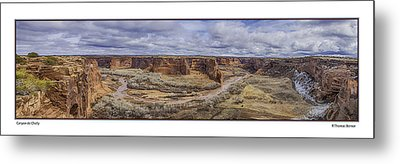 Metal Print featuring the photograph Canyon De Chelly by R Thomas Berner