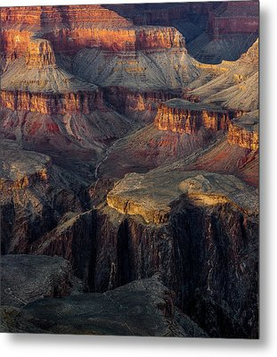 Metal Print featuring the photograph Canyon Enchantment by Carl Amoth