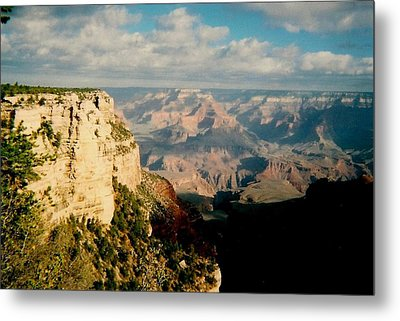 Canyon Shadows Metal Print by Fred Wilson