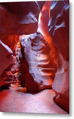 Metal Print featuring the photograph Canyon View  by Harold Rau