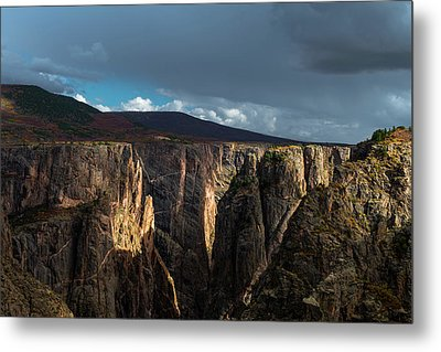 Canyon's Evening Light Metal Print by Joseph Smith