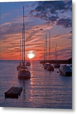 Cape Ann Sunrise Metal Print by Robert Pilkington
