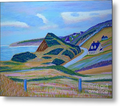Cape Brenton Highlands Metal Print by Rae  Smith PSC