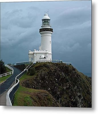 Metal Print featuring the photograph Cape Byron Lighthouse by Odille Esmonde-Morgan
