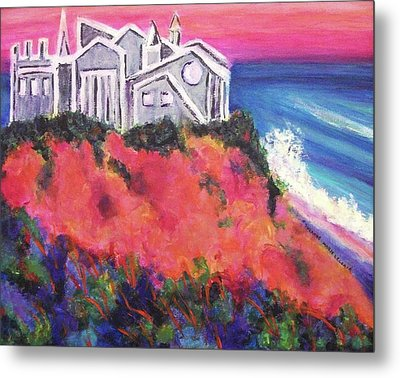 Cape Cod Castle Metal Print by Suzanne  Marie Leclair