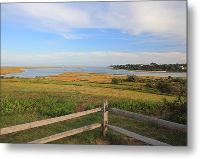 Cape Cod National Seashore Fort Hill Overlook Metal Print
