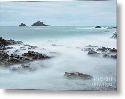 Cape Cornwall - Long Exposure Metal Print