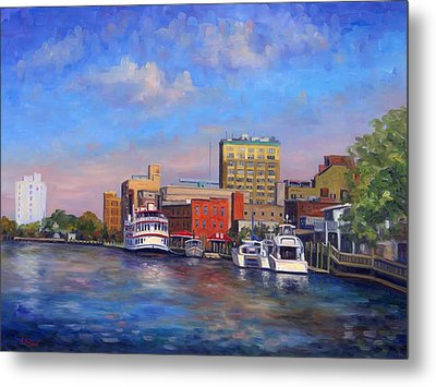 Cape Fear Afternoon Metal Print by Jeff Pittman