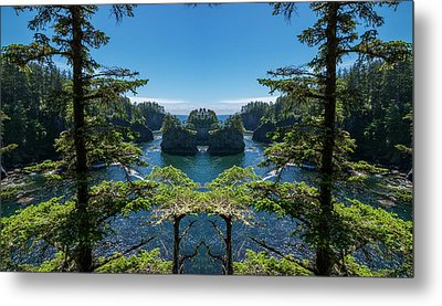 Cape Flattery Reflection Metal Print by Pelo Blanco Photo