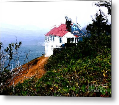 Cape Foulweather Metal Print by Methune Hively