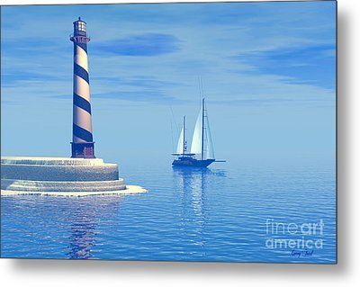 Cape Hatteras Metal Print by Corey Ford