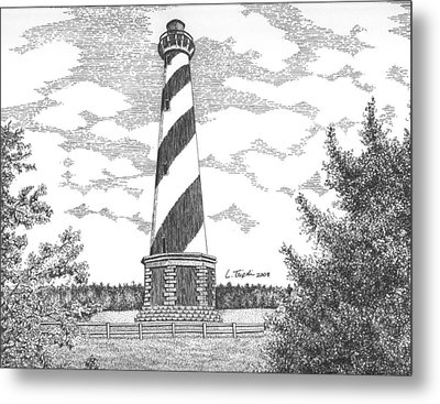 Cape Hatteras Lighthouse Metal Print by Lawrence Tripoli