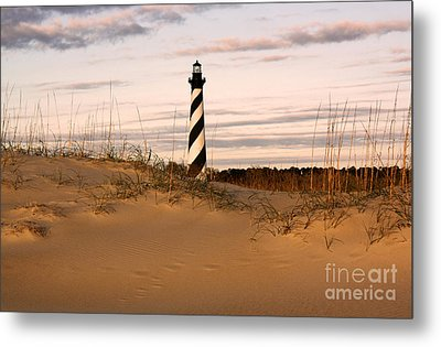 Cape Hatteras Lighthouse Metal Print by Tony Cooper
