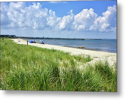 Metal Print featuring the photograph Cape Henlopen Delaware by Brendan Reals