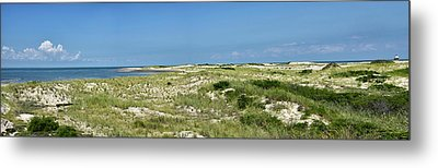 Metal Print featuring the photograph Cape Henlopen State Park - The Point - Delaware by Brendan Reals