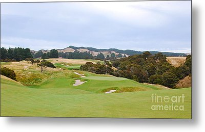 Cape Kidnappers  1 Golf Course New Zealand  Metal Print