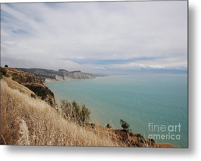 Metal Print featuring the photograph Cape Kidnappers Golf Course New Zealand by Jan Daniels