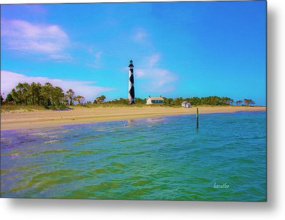 Cape Lookout 1 Metal Print by Betsy Knapp