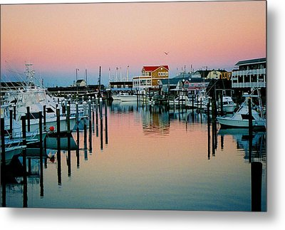 Metal Print featuring the photograph Cape May After Glow by Steve Karol