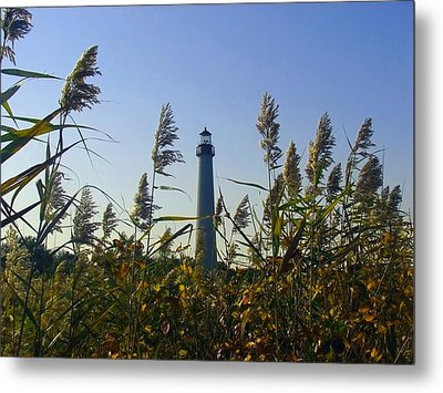Cape May Light Autumn Metal Print by Kevin  Sherf