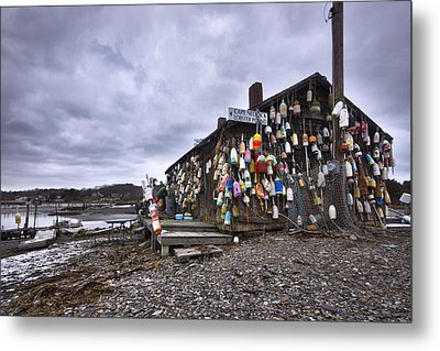 Cape Neddick Lobster Pound Metal Print by Eric Gendron