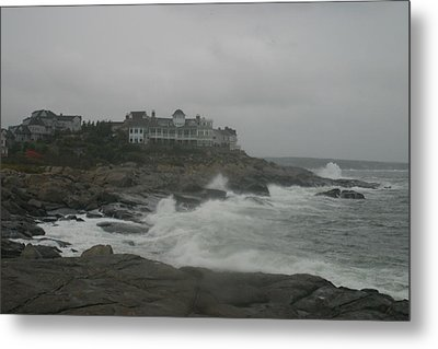 Cape Neddick Maine Metal Print
