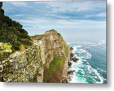 Cape Of Good Hope South Africa Metal Print by Tim Hester