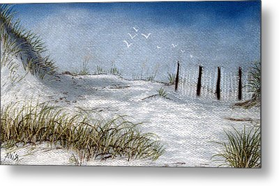 Cape San Blas Evening Metal Print