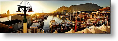 Cape Town's Waterfront Metal Print