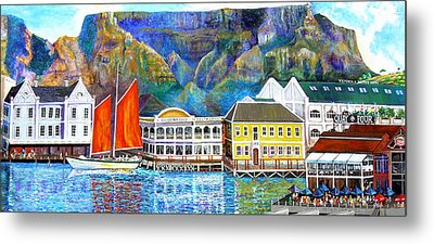 Cape Waterfront Metal Print by Michael Durst