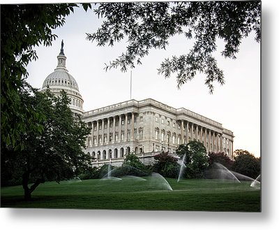 Capitol Lawn Metal Print by Greg Mimbs