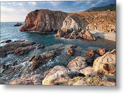 Metal Print featuring the photograph Capo Pecora by Laura Melis