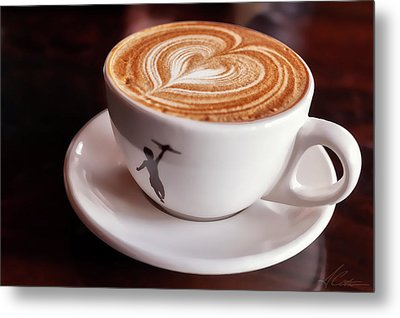 Metal Print featuring the photograph Cappuccino by Anthony Citro