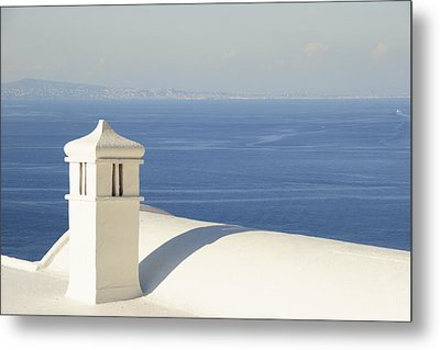 Metal Print featuring the photograph Capri by Silvia Bruno