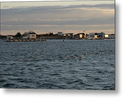 Captree Riptide Metal Print by Christopher Kirby
