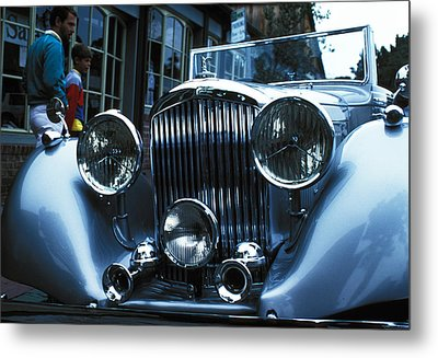Car Envy Metal Print by Carl Purcell
