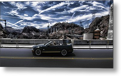 Car Metal Print by Marco Moscadelli