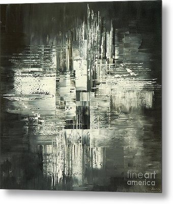 Carbon Concerto Metal Print