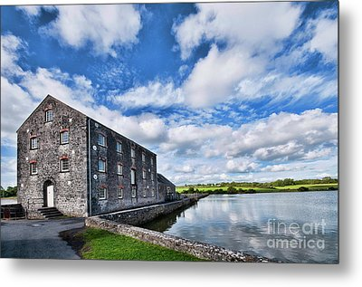 Carew Mill Pembrokeshire Metal Print by Steve Purnell