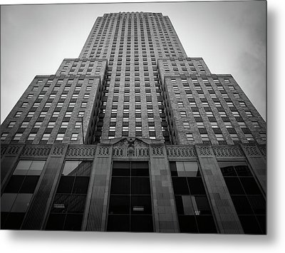 Carew Tower Metal Print