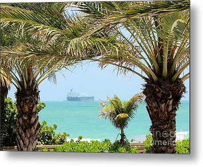 Cargo On Hold Metal Print