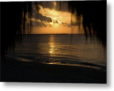 Caribbean Early Sunrise 5 Metal Print by Douglas Barnett