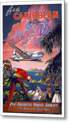 Caribbean Pan American Airways Metal Print by David Wagner